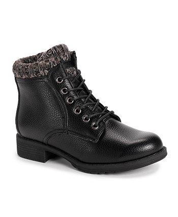 Женские ботинки Hiker Lug Sole Sweater в альпийском стиле MUK LUKS
