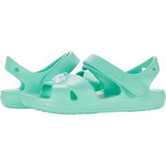 Классические сандалии с подвесками на перекрестных ремешках (для малышей / маленьких детей) Crocs Kids