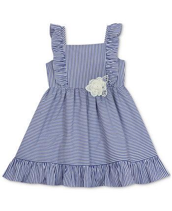 Платье в полоску для маленьких девочек Rare Editions