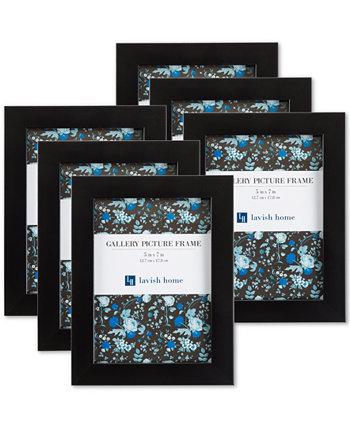 """6 шт. Набор настенных картинных рамок 5 """"x 7"""" Trademark Global"""