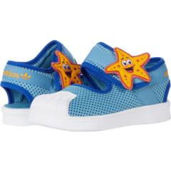 Superstar 360 Suede & Leather Primeblue (для малышей) Adidas Originals Kids