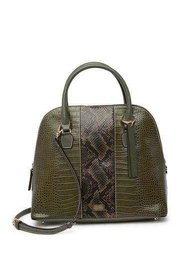 Сумка-портфель Rachel с тиснением под змеиную кожу и крокодиловую кожу Frances Valentine