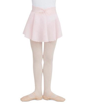 Маленькие и большие девочки натягивают юбку Джорджет Capezio