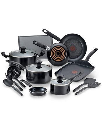 Culinaire 16-шт. Набор посуды из алюминия с антипригарным покрытием T-Fal