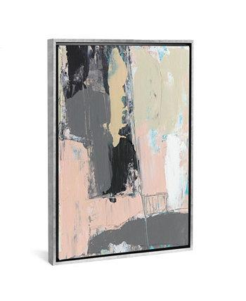 Картина «Pink-A-Boo III» от Дженнифер Голдбергер на холсте в упаковке - 40 дюймов x 26 дюймов x 0,75 дюйма ICanvas
