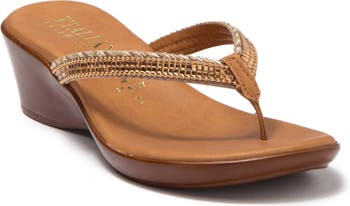 Korrie Wedge Sandal Italian Shoemakers
