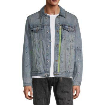 Джинсовая куртка со слоганом Type II Cult Of Individuality