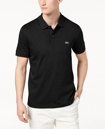Мужская рубашка-поло из хлопка пима стандартного кроя Lacoste