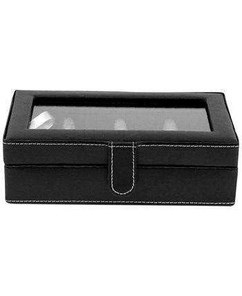 Кожаная коробка запонок с 12 частями Bey-Berk