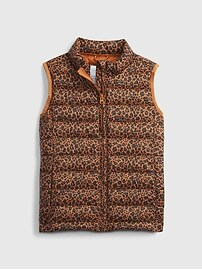 Kids ColdControl Recycled Puffer Vest Gap