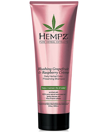 Blushing Grapefruit & Raspberry Crème Herbal Color Preserving Shampoo, 9-oz., from PUREBEAUTY Salon & Spa Hempz