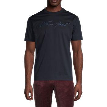 Фирменная футболка с круглым вырезом Emporio Armani