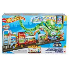 Набор для мойки автомобилей Hot Wheels City Ultimate Octo Mattel