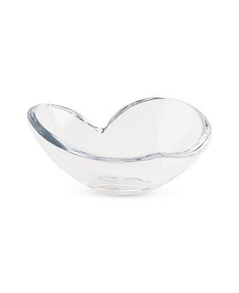 Большая чаша Nambe Glass Heart Bowl Nambe