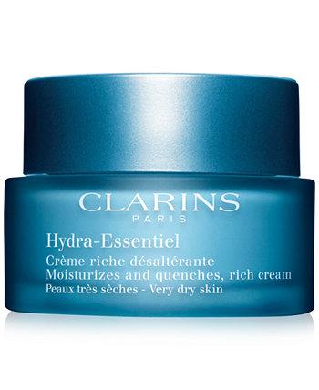 Hydra-Essentiel Rich Cream - Очень сухая и сухая кожа, 1,8 унции. Clarins