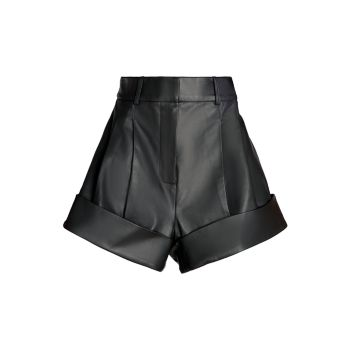 Кожаные шорты Carnalis UNTTLD