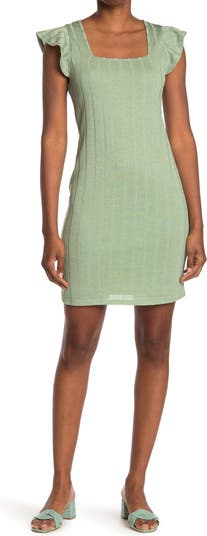 Трикотажное платье с короткими рукавами и принтом 19 Cooper