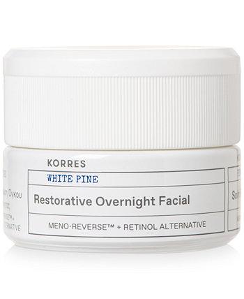 Восстанавливающая ночная маска для лица White Pine KORRES