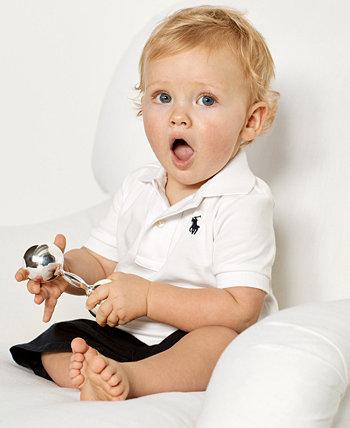 Хлопковое поло Ralph Lauren Baby Boys Ralph Lauren