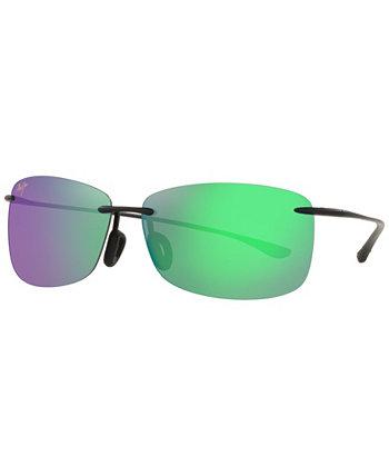 Поляризованные солнцезащитные очки унисекс, MJ000593 Akau 61 Maui Jim