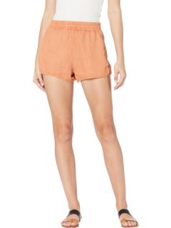 Linen Elastic Waist Pull-On Shorts Blank NYC
