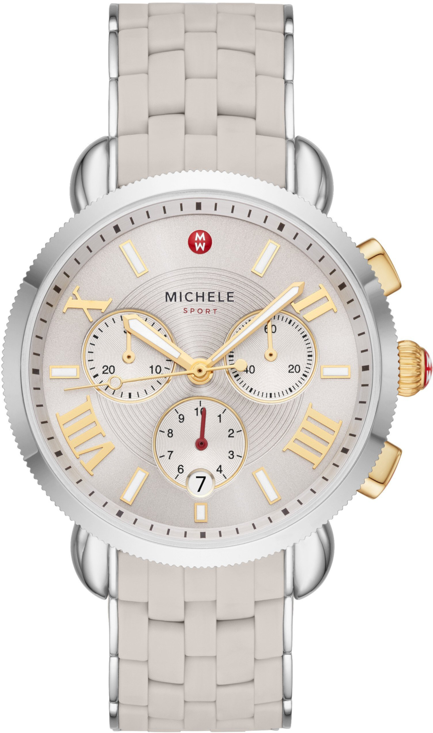 Часы Sporty Sport Sail из нержавеющей стали с силиконовым покрытием Michele