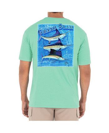 Мужская футболка с круглым вырезом и короткими рукавами Billfish Grand Slam Guy Harvey