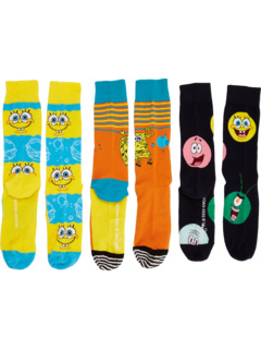 Губка Боб 3-Pack Подарочная коробка Happy Socks