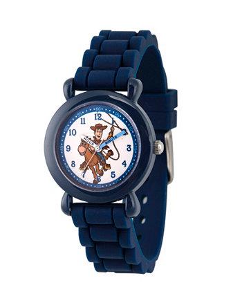 Disney Toy Story для мальчика 4 Woody Blue Пластиковые часы для учителя с ремешком 32мм Ewatchfactory