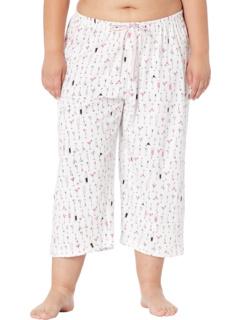 Plus Size Dwink Dwink Capris PJ Pants HUE