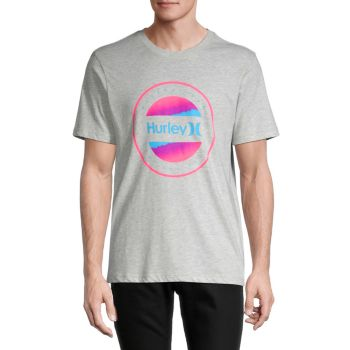 Electric Graphic Cotton T-Shirt Hurley