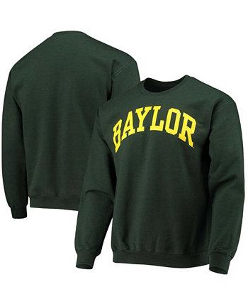 Мужской зеленый свитшот с логотипом Baylor Bears Basic Arch Fanatics