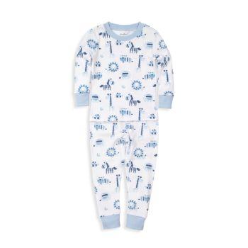 Комплект пижам с принтом из двух предметов для маленьких мальчиков Jungle Jibes Kissy Kissy