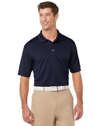 Мужская однотонная рубашка-поло для гольфа Airflux PGA TOUR