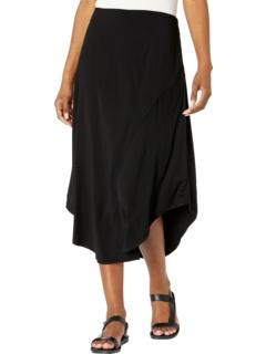 Асимметричная юбка из мягкой вискозы с драпировкой и эластичной тканью Mod-o-doc