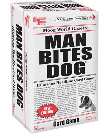 """Карточная игра """"Человек кусает собаку"""" University Games"""