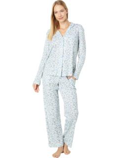 Пижамный комплект Girlfriend с длинным рукавом с принтом Karen Neuburger