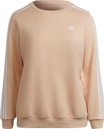 Essentials 3-Stripes Fleece Sweatshirt Adidas