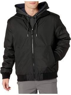 Водонепроницаемая и ветрозащитная куртка-бомбер Rip Stop Calvin Klein