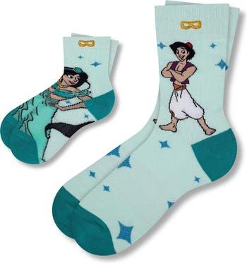 Сияющие, мерцающие, великолепные носки для экипажа Disney Aladdin Pair Of Thieves