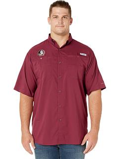 Рубашка с коротким рукавом Big & Tall Florida State Seminoles Collegiate Tamiami ™ II Columbia College