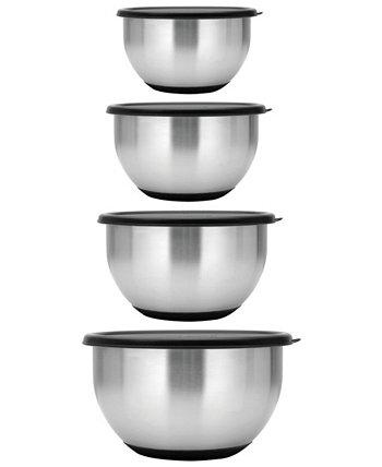 Коллекция Essentials Geminis из нержавеющей стали, 8 шт. Набор чаши для смешивания BergHOFF