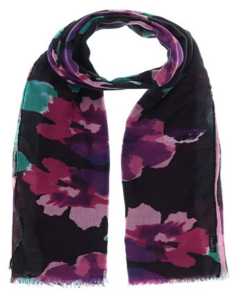 Women's Painted Floral Scarf FRAAS