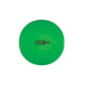 Champion Sports FP65NG 65 cm Fitpro Training & Exercise Ball, Neon Green Champion Sports