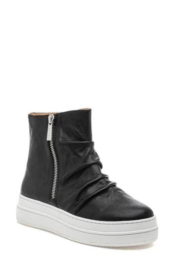 Кроссовки Tina на платформе с высоким берцем J/Slides