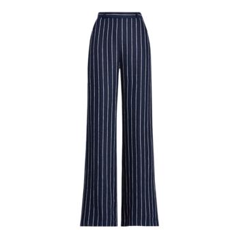 Pinstripe Linen Pant Ralph Lauren