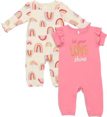 Love Shine Jumpsuits - Pack of 2 Baby Starters