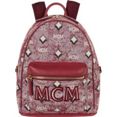 Vintage Jacquard Mini Backpack MCM