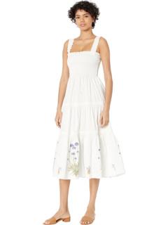 Платье-накидка со сборками Tory Burch Swimwear