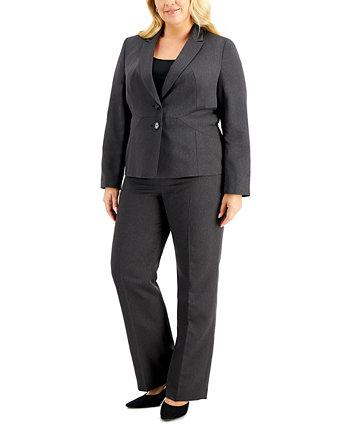 Брючный костюм большого размера с прямыми штанинами Le Suit